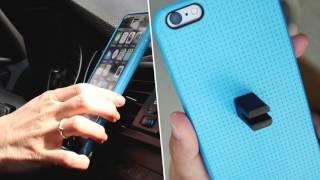 CarClip: la funda con soporte magnético de coche para tu móvil | Stikgo