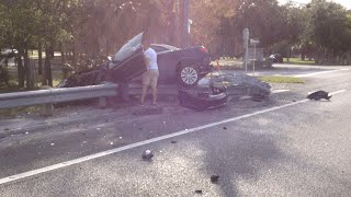 Horrible Car Wreck