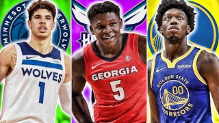 Post Lottery 2020 NBA Mock Draft