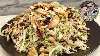 Легкий капустный салатик. Быстрый и простой рецепт, очень вкусно и полезно. Кухня в кайф