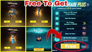 Free To Get Royale Pass Season 8 in PUBG Mobile | PUBG Mobile New Trick to get free Royale Pass