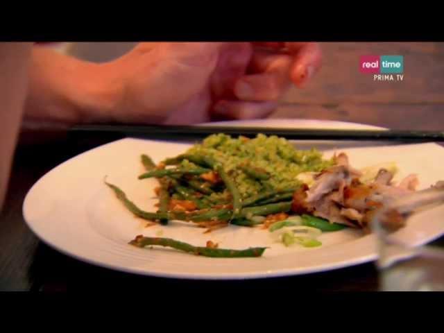 A tavola con Ramsay # 116: Fagiolini saltati al burro di arachide e salsa di soia