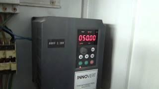 видео Частотный преобразователь крана, плавный пуск кран-балки