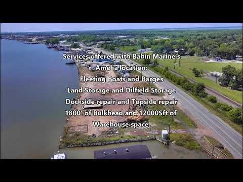Babin Marine - Morgan City Facilities