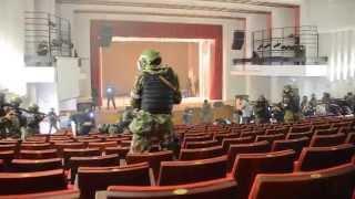В Воронеже во Дворце детей и молодежи освободили «заложников»