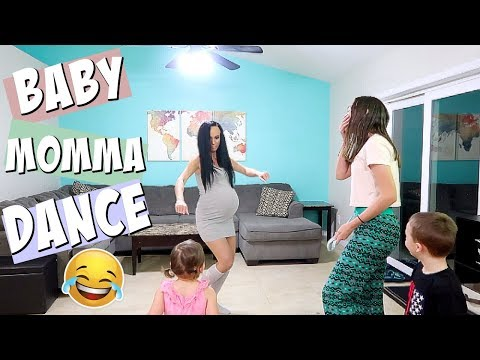 MOM AND KiDS DO BABY MOMMA DANCE CHALLENGE *HiLARiOUS*