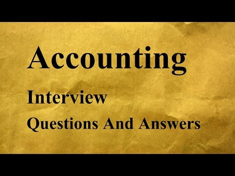 questions on finance and accounts What to expect in an accounting and finance interview one thing to bear in mind when interviewing for an accounting and finance position is that most of the questions asked will be both about general accounting practices as well as those specific to the company with which you're interviewing.