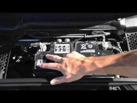 Porsche SLC Battery Care on The Porsche 911 Carrera - YouTube