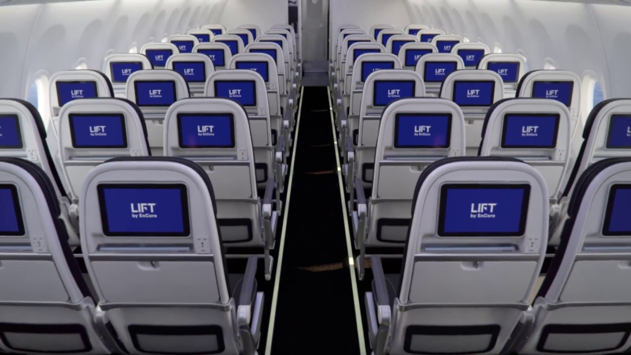 LIFT\'s 737 Tourist Class Seating - YouTube
