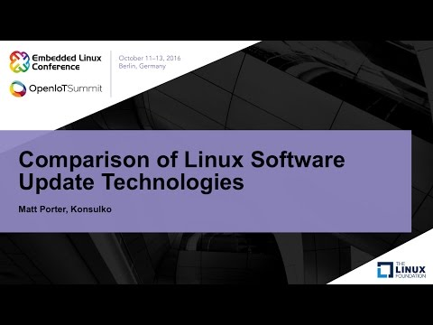 Comparison of Linux Software Update Technologies