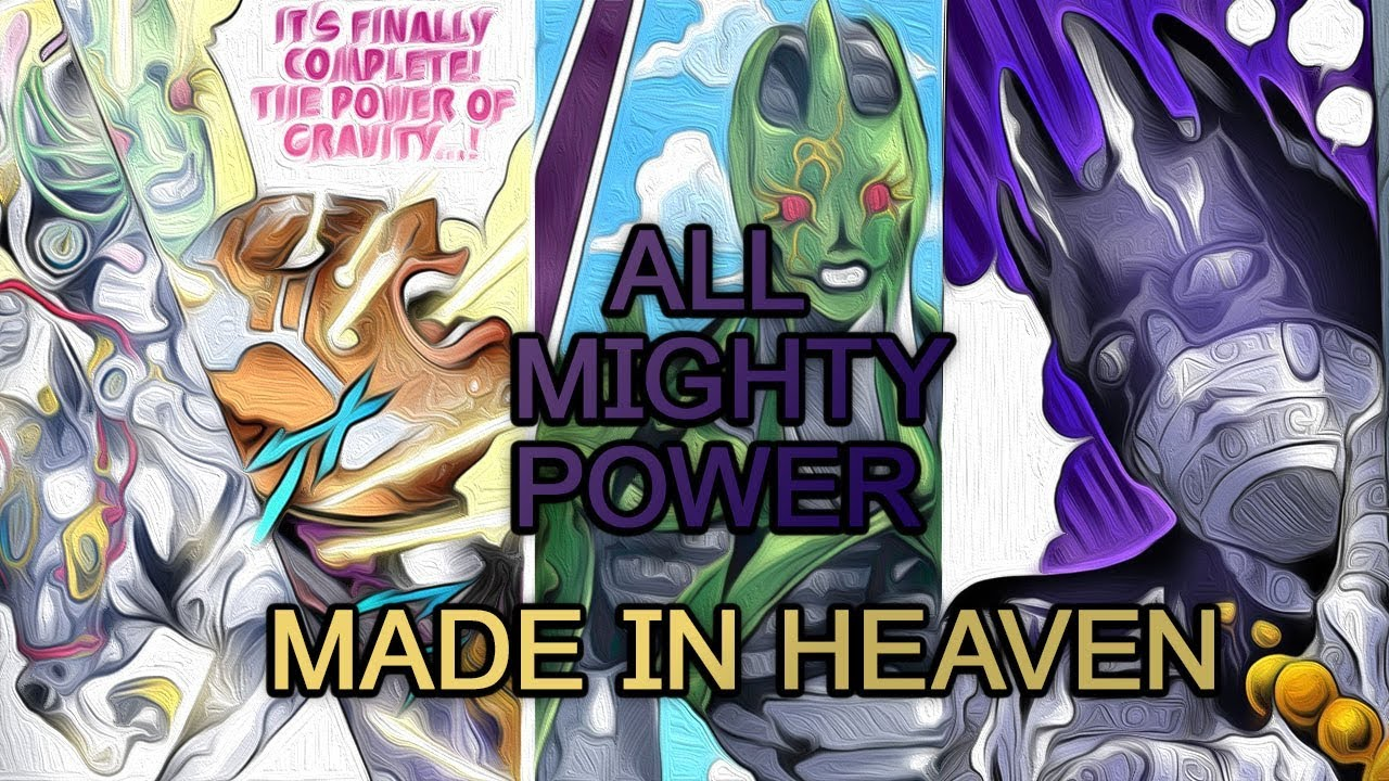Download The Most Terrifying Stand: Made In Heaven