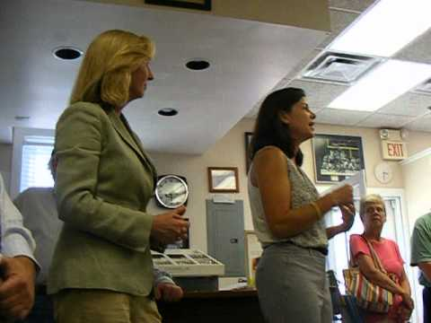 Kelly Ayotte Kerry Healey Hollis NH question on size of Government