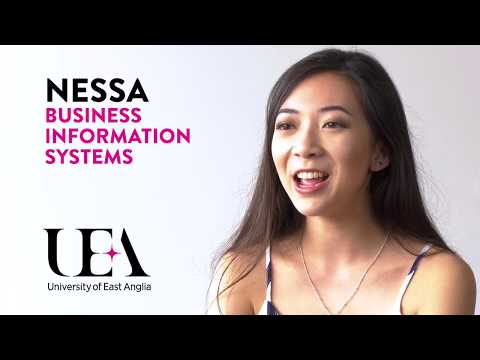 Business Information Systems – Life as an Undergraduate Student at UEA – Nessa