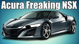 The Acura Freaking NSX!