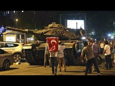 Turkish Army's Coup Attempt Failed, President Erdogan Lands in Istanbul