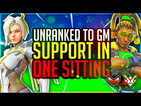 PUSHING THROUGH MASTERS! Unranked to GM SUPPORT ONE SITTING ATTEMPT #3!