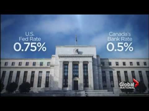 How a US interest rate hike affects Canadians, oil and the loonie