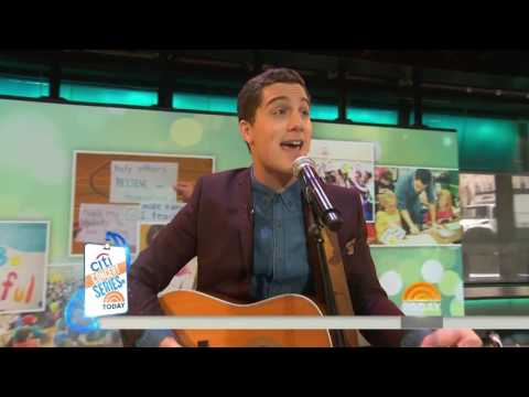 Jesse Ruben performs We Can live on The Today Show