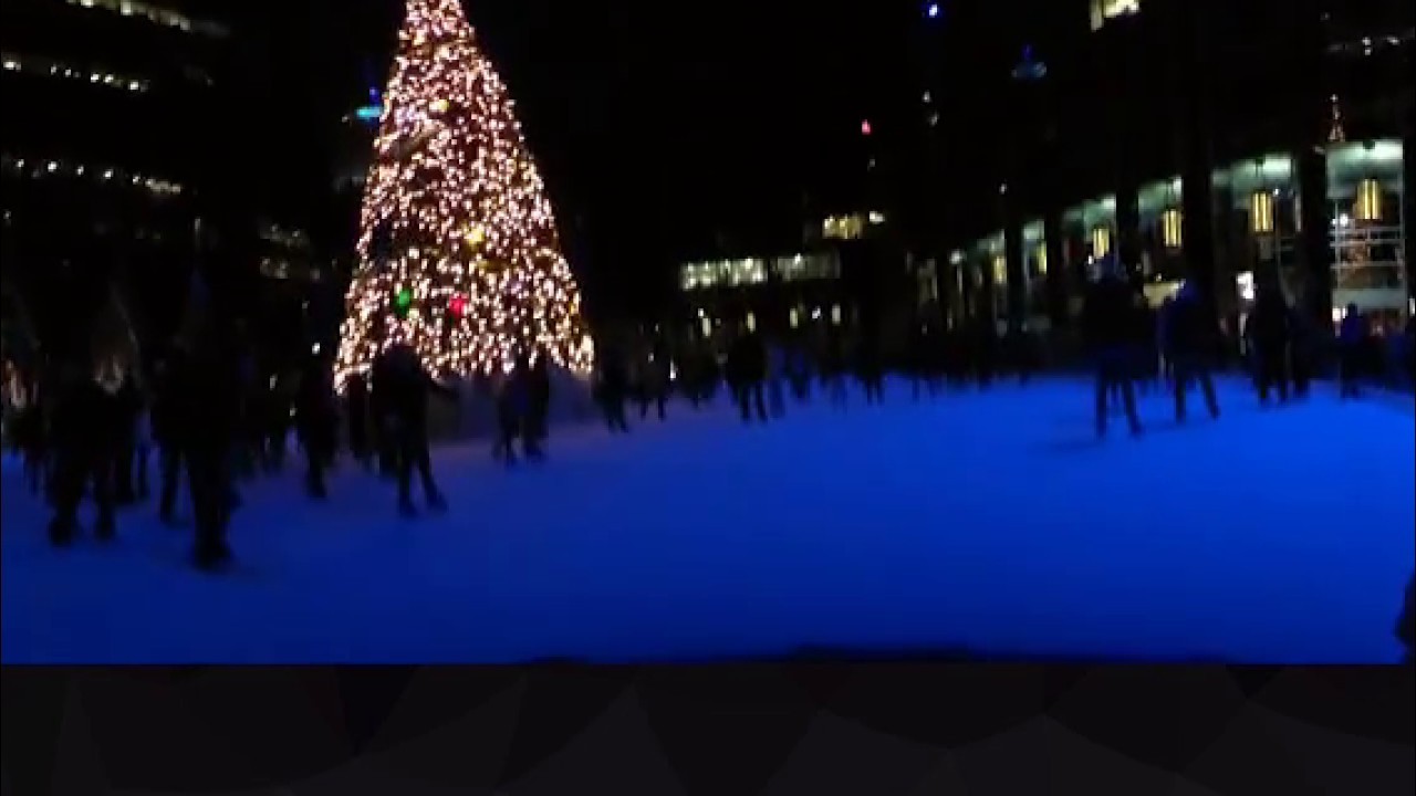 ice skating at massmutual pittsburgh ice rink at ppg place youtube
