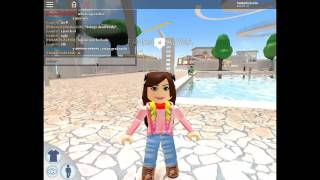 my first waterpark in roblox ROMINA BERENICEYT
