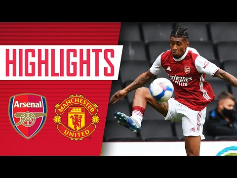 HIGHLIGHTS | Arsenal vs Manchester United (3-3) | Nelson, Balogun (2) | U23s