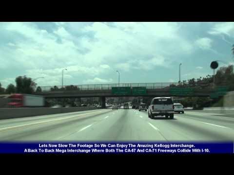 I-10 Los Angeles, CA The San Bernardino Frwy (Exits 58-36)