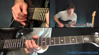 Rock of Ages Guitar Lesson - Def Leppard