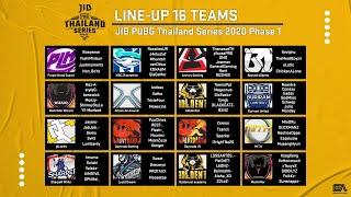JIB PUBG Thailand Series 2020 Phase 1 week2 Day1
