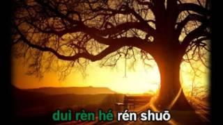 Bởi vì nhớ anh nên cô đơn luyện hát - 因为想你才寂寞 with Chinese Pinyin