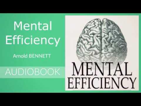 Mental Efficiency by Arnold Bennett - Audiobook