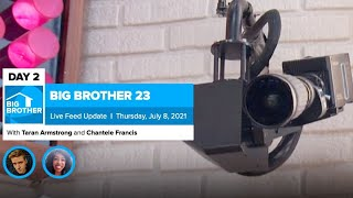 Big Brother 23 Day 2 Live Feed Update
