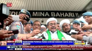 Habib Rizieq Yakin Keterangannya di Bareskrim Langsung Masuk BAP
