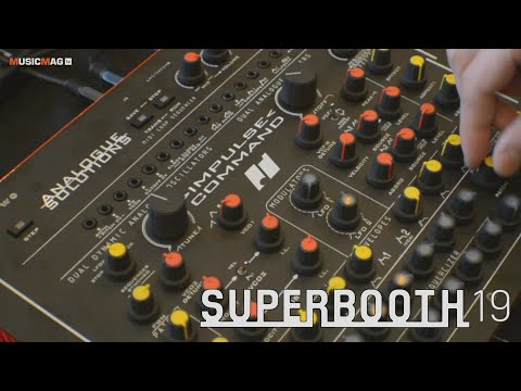 Analogue Solutions - Impulse command - синтезатор (Superbooth19)