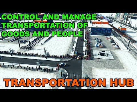 TRANSPORTATION HUB | Cities Skylines |