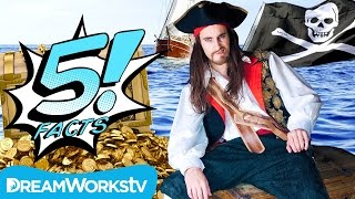 5 Facts About PIRATES That Shiver Me Timbers | 5 FACTS