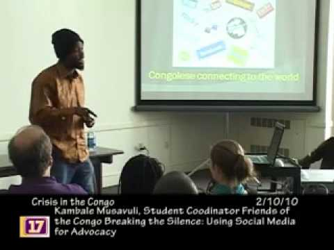 Presentation: Crisis in the Congo - Using Social Media for Advocacy
