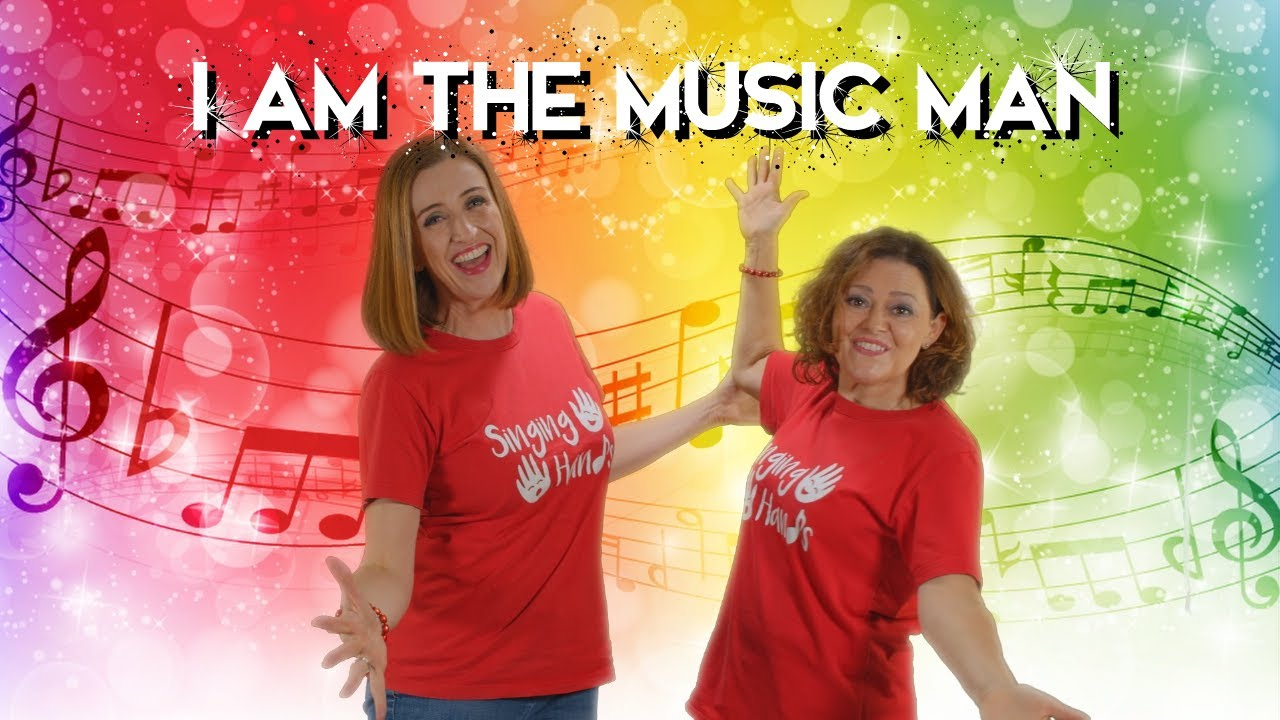 I am the Music Man with Makaton - Singing Hands - YouTube