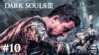 BOSS FIGHT! KÖVETŐS SUNEN! FASTEST DEATH EVER! | Dark Souls 3: Ashes of Ariandel #10