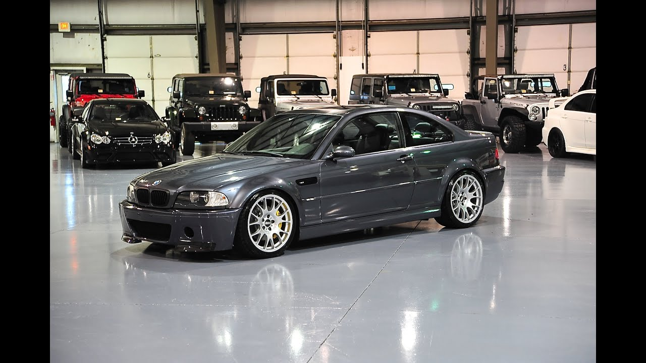 Davis AutoSports BMW E46 M3 For Sale NEW: TIRES ,WHEELS, COILOVERS, BUMPER,  BRAKES, INTERIOR U0026 MORE   YouTube