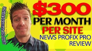 NewsProfixPro Review ⚠️ Demo ⚠️ $550 Bonus ⚠️News …