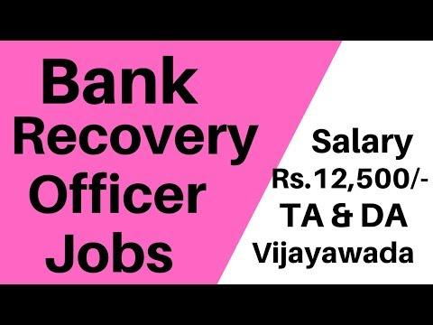 Bank Loan Recovery Jobs In Vijayawada Andhra Pradesh # APTS JOBS