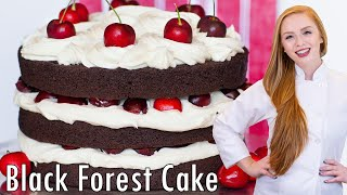 Black Forest Cake - Chocolate Cherry Cake
