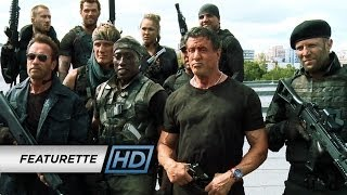 The Expendables 3 (2014 Movie - Sylvester Stallone) Official Featurette - 'Action on Set'