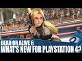 Dead Or Alive 6 - What's new for PlayStation 4?