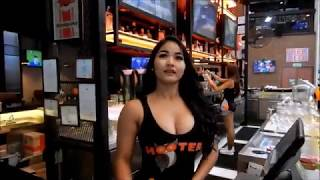 Pattaya Hooters Visit Dec 2017, Nsane Vlog #10