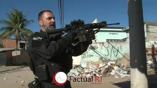 Policias da Core são atacados pelos traficantes do Rola