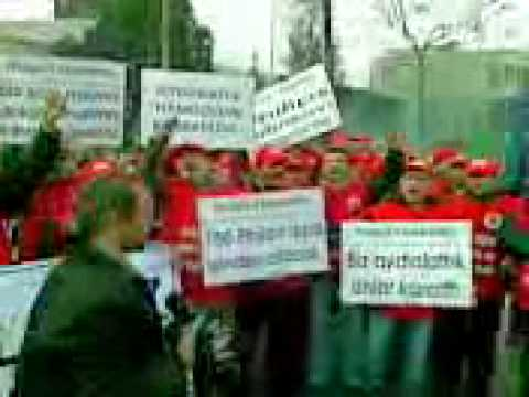 Philips protests in Istanbul
