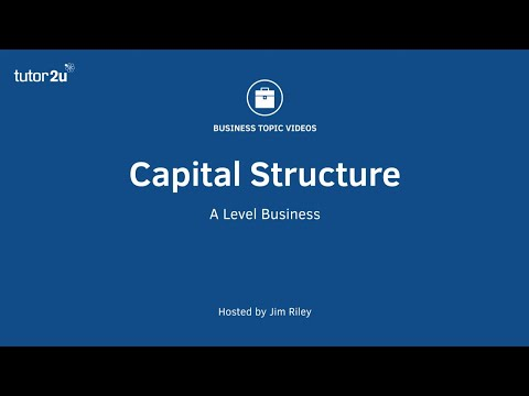 Finance: Capital Structure of a Business