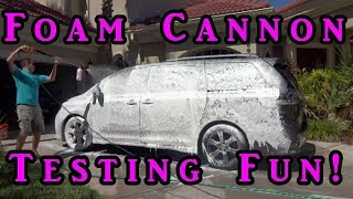 Meguiars Gold Class or Mother's Wash and Wax in a Foam Cannon Gun? Let's Try!!!