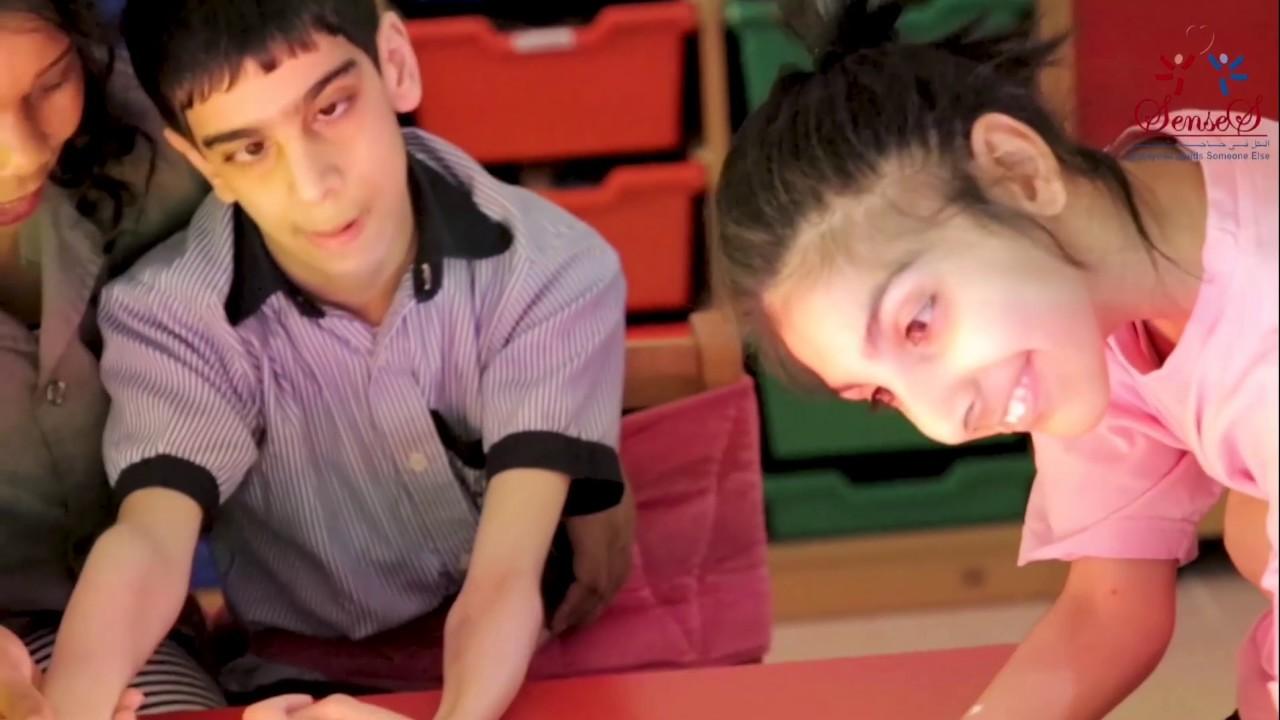 بطل الحكاية فقرة غنا~ية مقدمة من أصحاب الهمم من المشاعر الإنسانية
